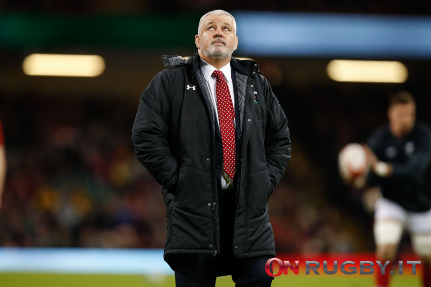 Warren Gatland guiderà i Lions in Sudafrica nell'estate 2021. PH Sebastiano Pessina