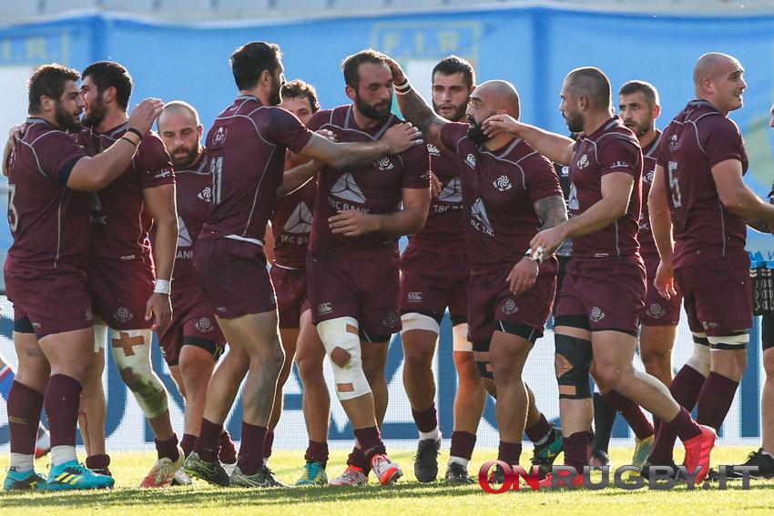 La Georgia nella partita contro l'Italia a Firenze (ph. Sebastiano Pessina)