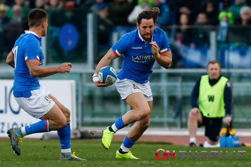 Michele Campagnaro giocherà le prossime due stagioni in Francia con la maglia del Colomiers ph. Sebastiano Pessina