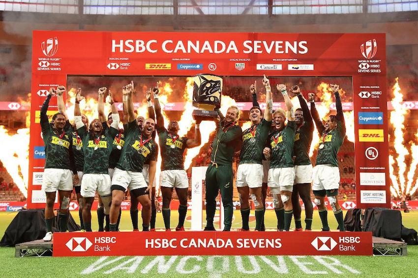 Sudafrica campione a Vancouver Sevens World Series 2019