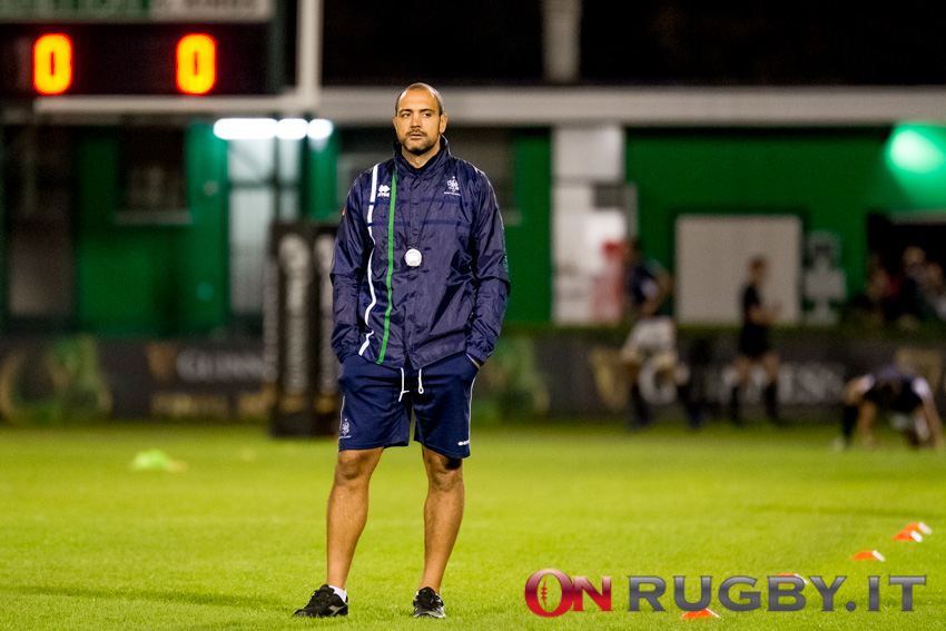 Marco Bortolami benetton rugby