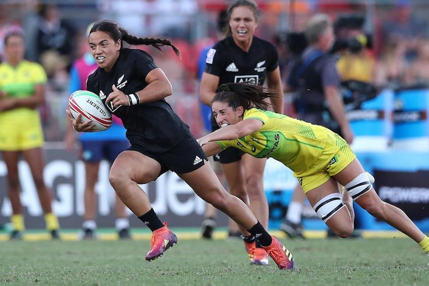 Sevens World Series Nuova Zelanda vs Australia verso Tokyo 2020 in Giappone