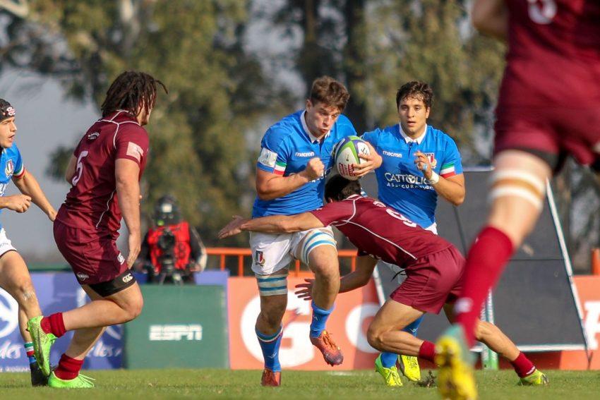 Davide Ruggeri dalla prossima settimana si allenerà con il Benetton Rugby ph. World Rugby