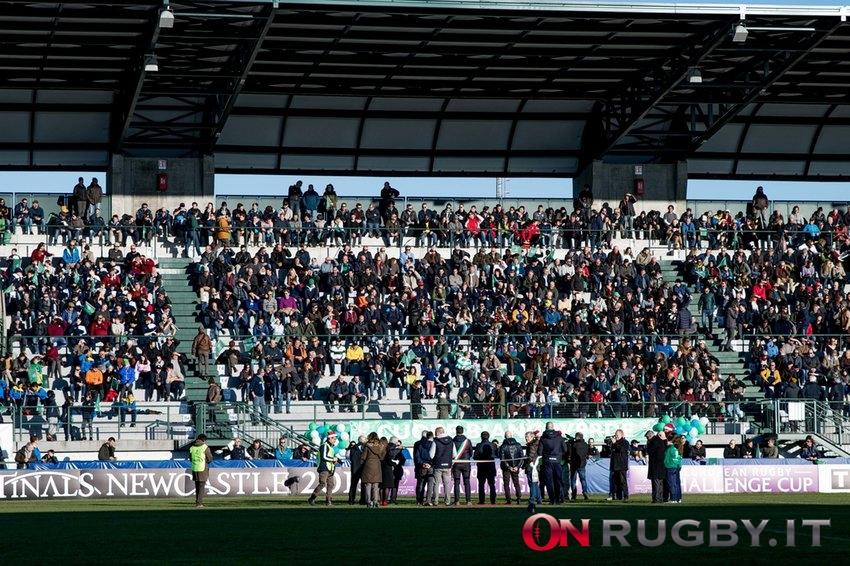 Le normative del governo per il ritorno del pubblico negli stadi di rugby ph. Ettore Griffoni