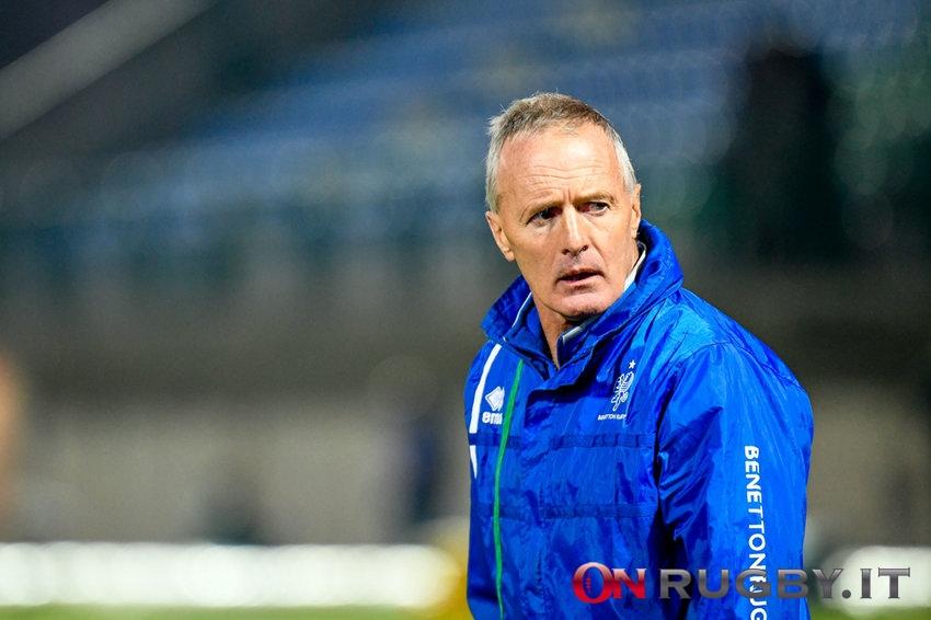Kieran Crowley ha commentato la vittoria del Benetton in Challenge Cup ph. Ettore Griffoni