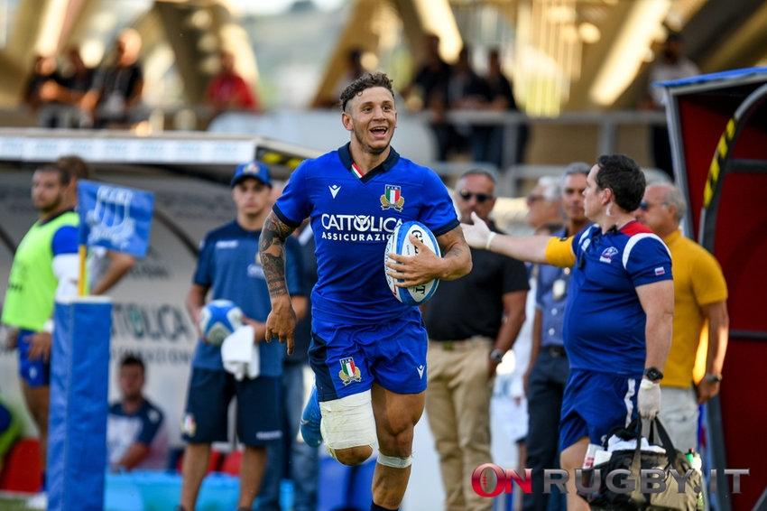 57 minuti in campo per Minozzi in questo turno di Premiership ph. Ettore Griffoni