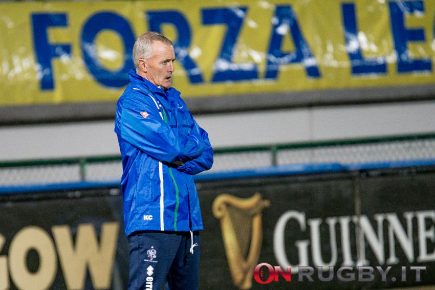 Il Benetton Rugby e Kieran Crowley sono pronti a tornare in campo ph. Ettore Griffoni