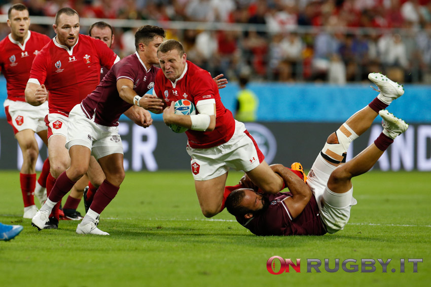 hadleigh parkes galles rugby world cup 2019