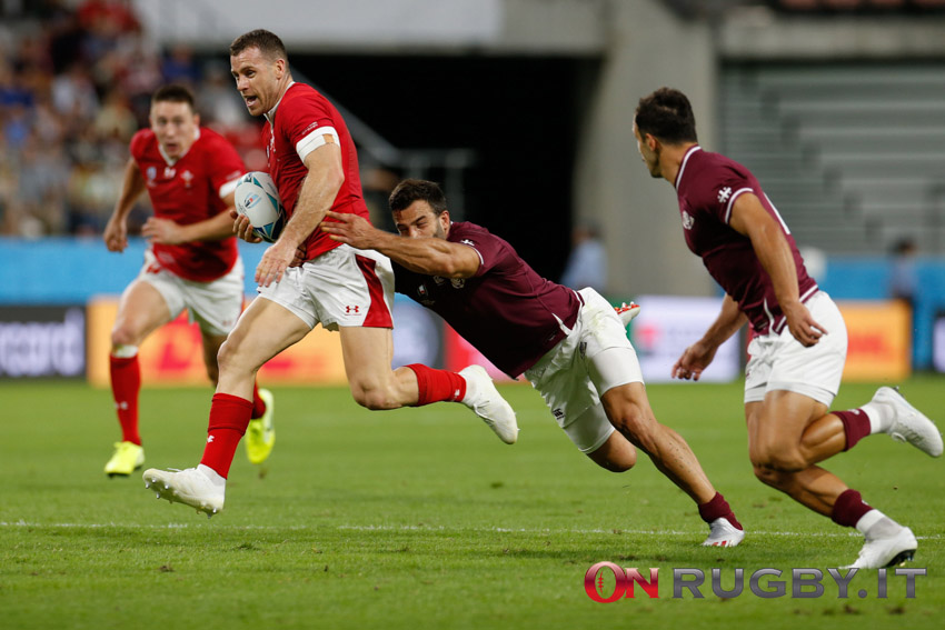 galles gareth davies rugby world cup 2019