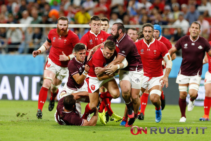 georgia galles rugby world cup 2019