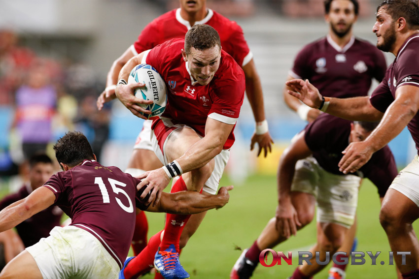 george north galles rugby world cup 2019