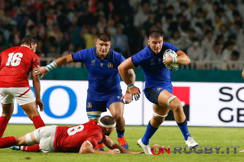 Rugby World Cup 2019 Italia - Canada
