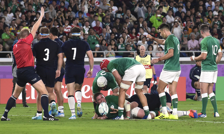 Irlanda scozia rugby world cup 2019