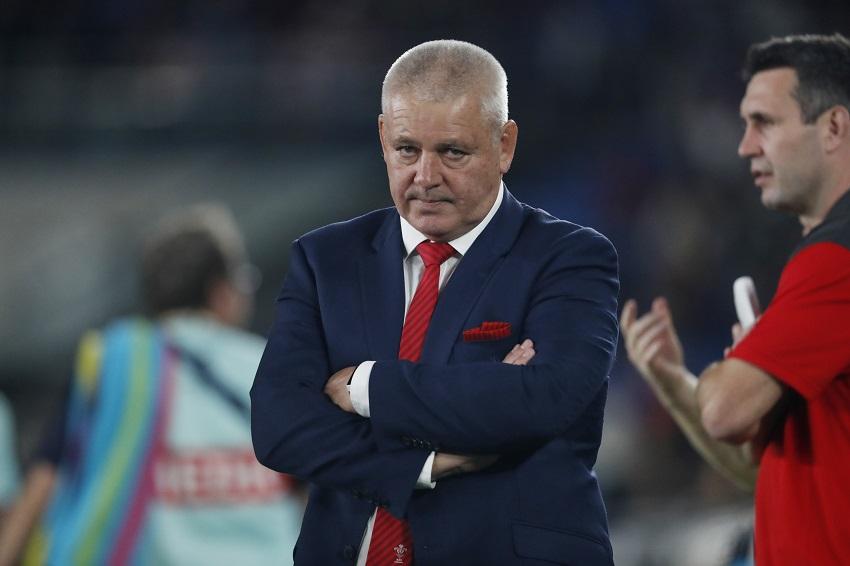 warren gatland galles rugby world cup 2019