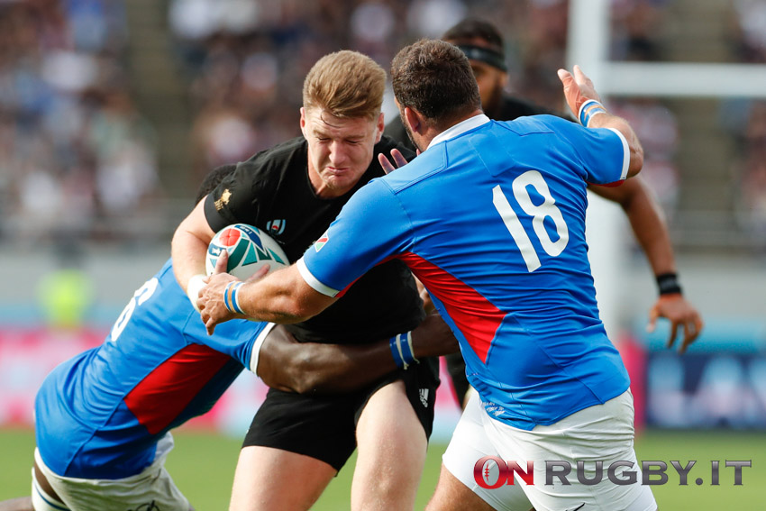Super Rugby Aotearoa: Jordie Barrett decisivo nel successo Hurricanes ph. Sebastiano Pessina