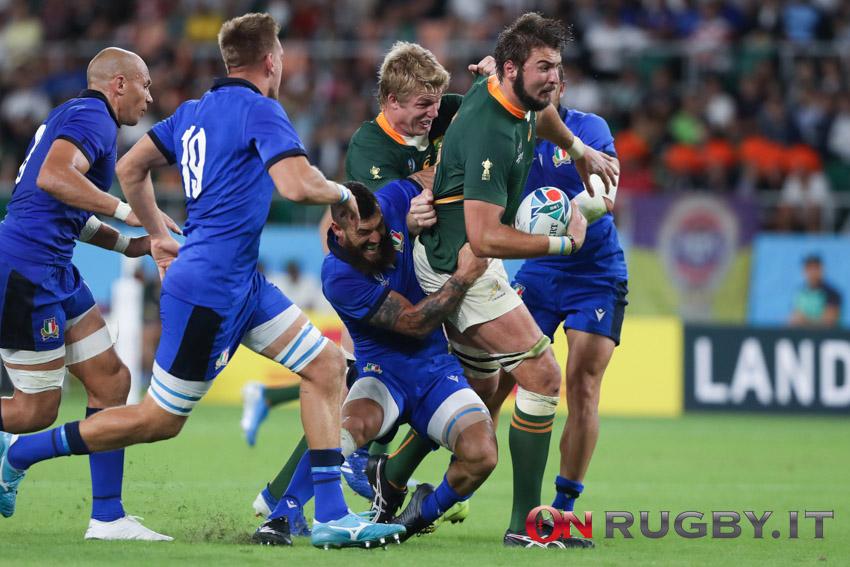 Sudafrica: Lood de Jager positivo al Covid, allenamenti sospesi (Ph. Sebastiano Pessina, sudafrica rugby world cup 2019)