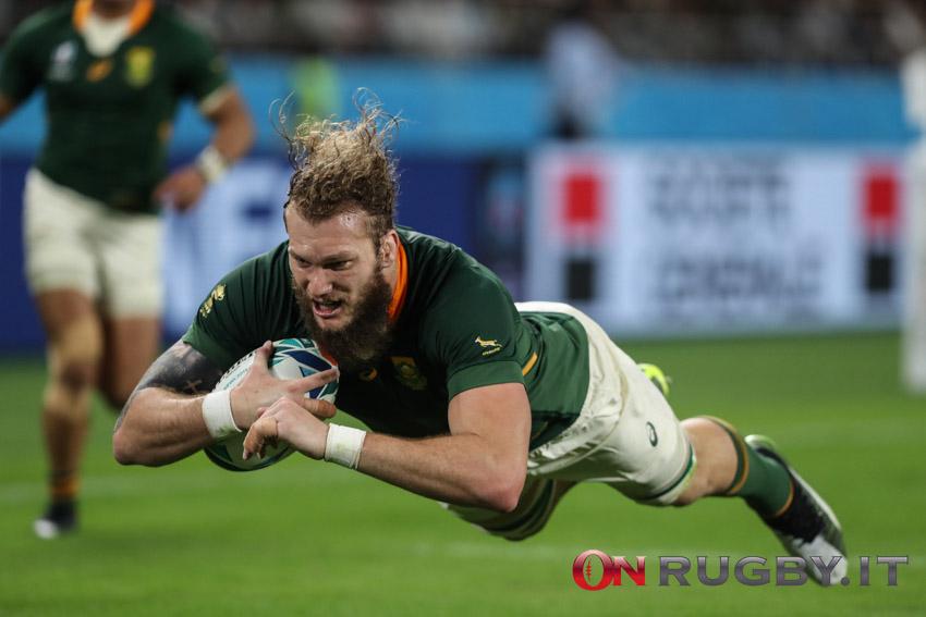 sudafrica rg snyman rugby world cup 2019
