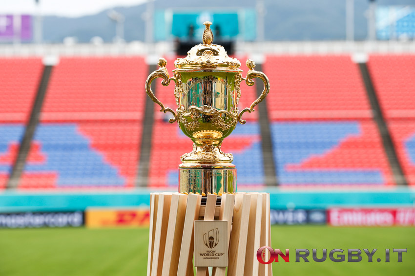 rugby world cup 2019 trofeo