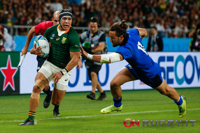 Rugby world cup 2019 Cheslin kolbe italia
