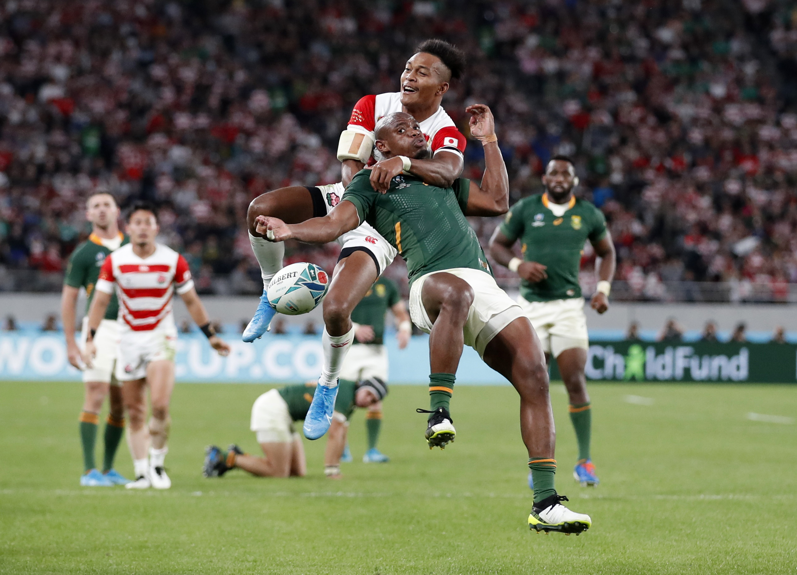 giappone sudafrica rugby world cup 2019