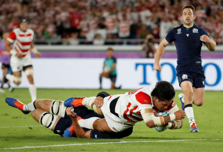 Keita Inagaki giappone rugby world cup 2019