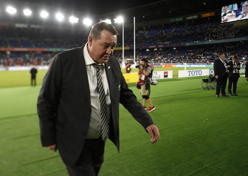 steve hansen rugby world cup 2019 all blacks