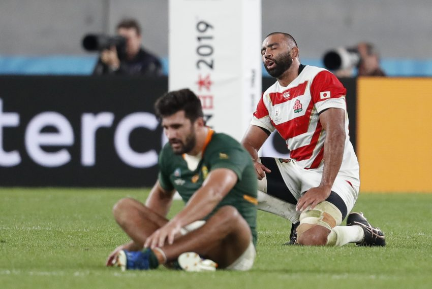 sudafrica giappone rugby world cup 2019