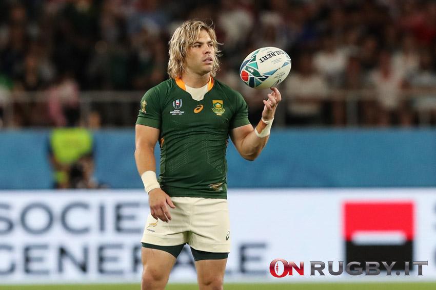 faf de klerk sudafrica rugby world cup 2019