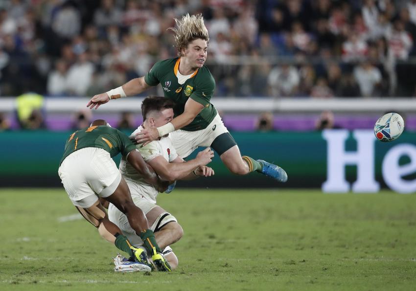 Faf de klerk Rugby world cup 2019
