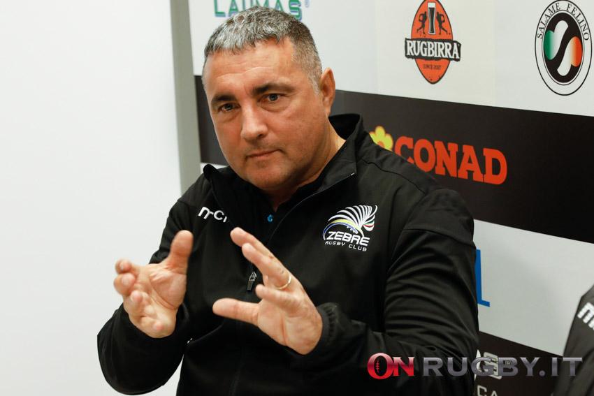 Michael Bradley sarà l'allenatore delle Zebre fino al 2022 ph. Sebastiano Pessina