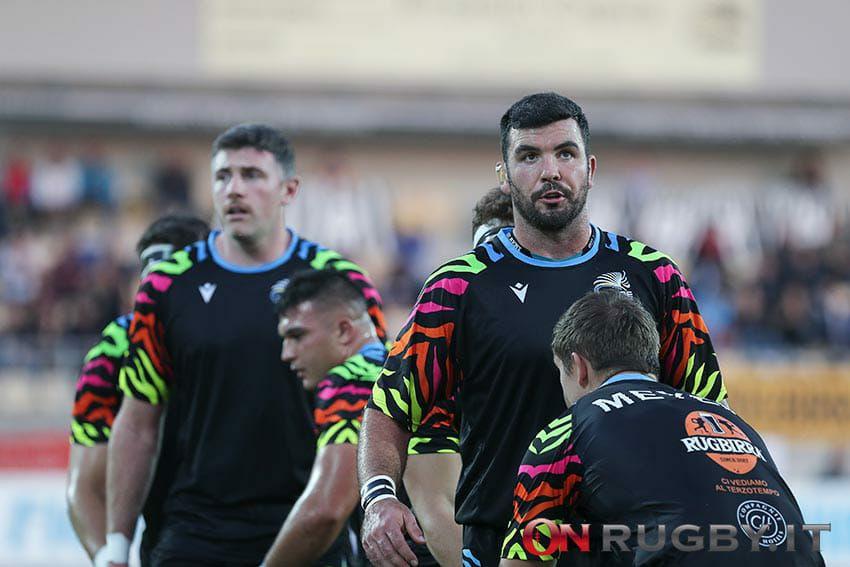 Zebre rugby mick Kearney