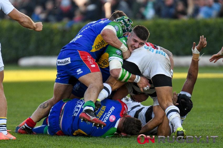 benetton rugby Nahuel Tetaz Chaparro al posto di Marco Riccioni