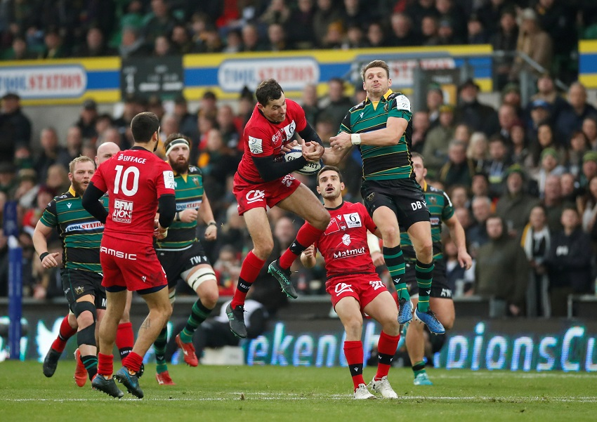 rugby champions cup gioco aereo