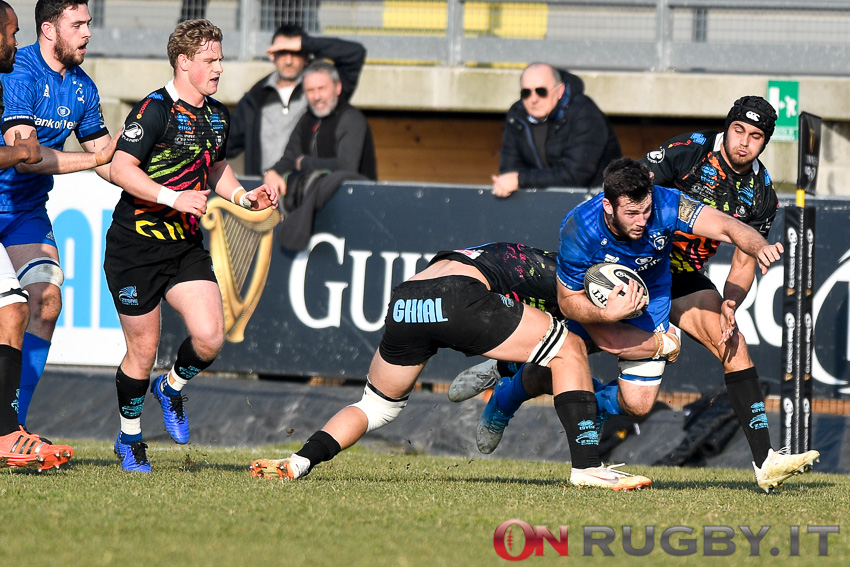 Zebre Rugby_Leinster_Caelen Doris
