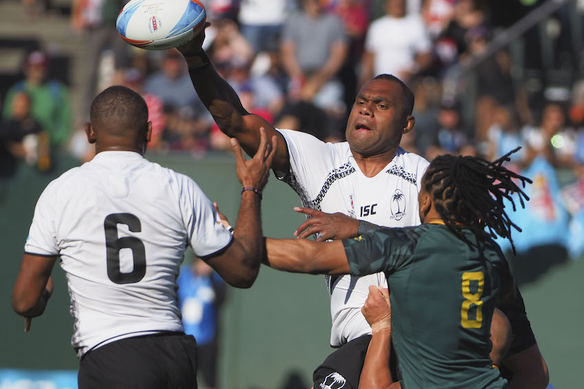 Fiji v Sudafrica Sevens World Series Australia