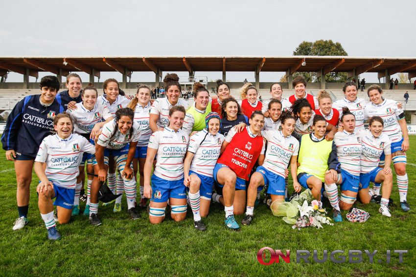 Italia femminile rugby