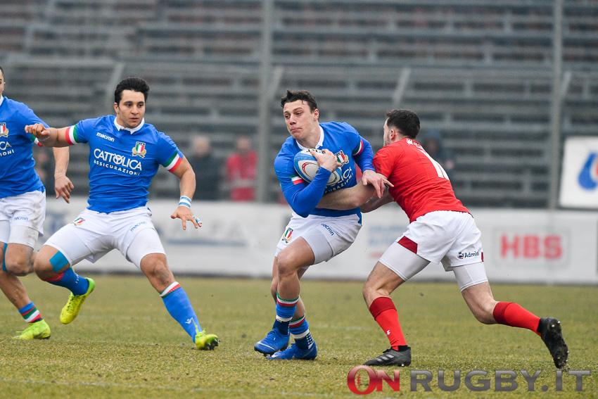 Paolo Garbisi nazionale Under 20