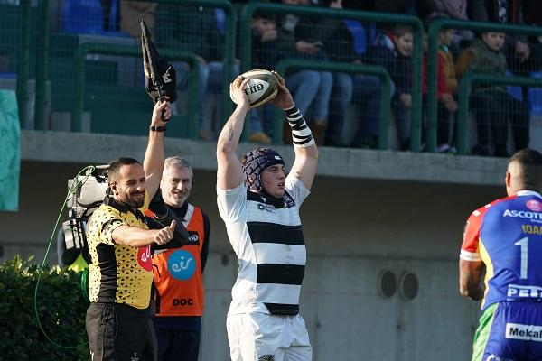 Marco Manfredi torna a giocare dopo un lunghissimo stop (ph. Zebre Rugby)