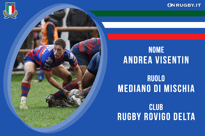 Andrea Visentin-rugby-nazionale under 20