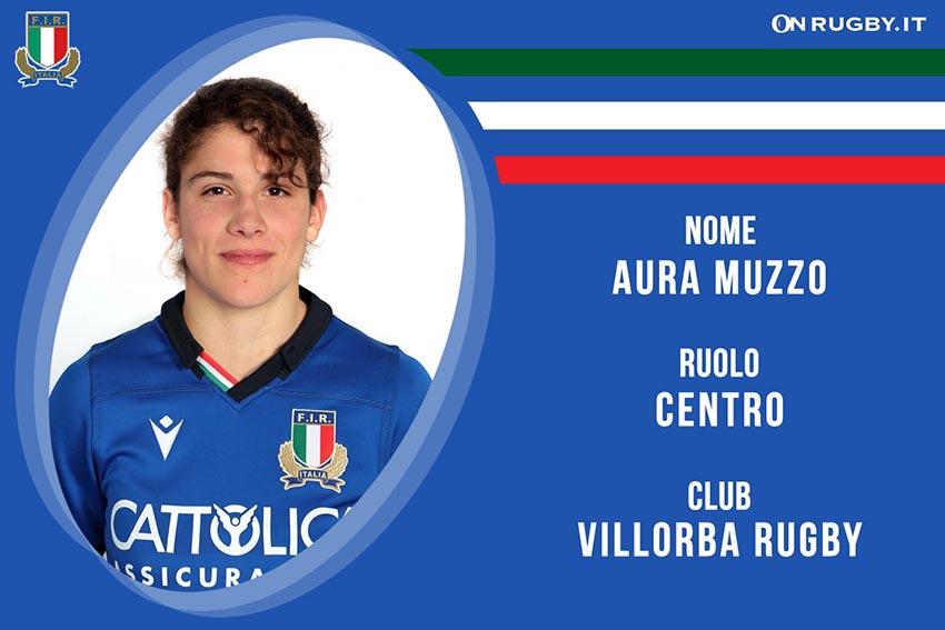 Aura Muzzo-Rugby-Nazionale Femminile