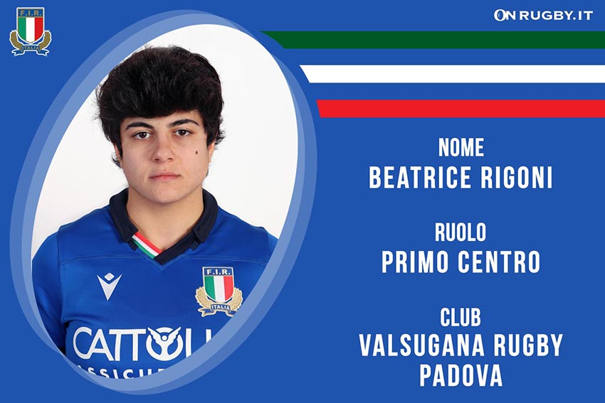 Beatrice Rigoni-Rugby-Nazionale Femminile
