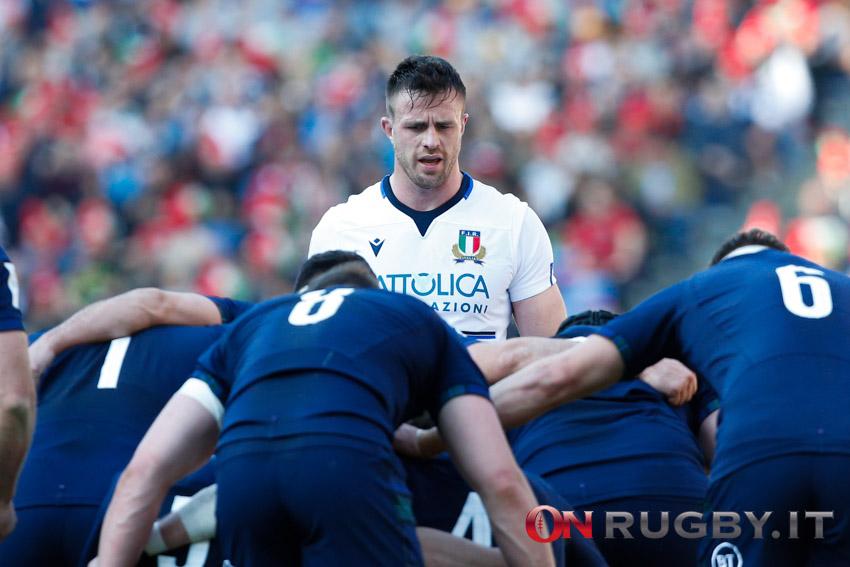 Sei Nazioni 2020: Bram Steyn Nazionale italiana Rugby