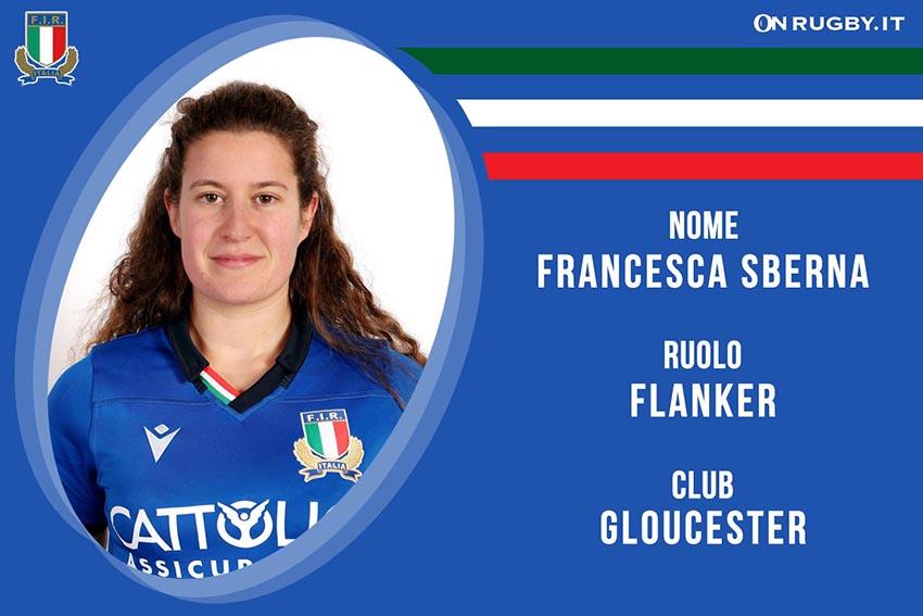 Francesca Sberna-Rugby-Nazionale Femminile