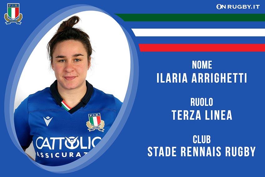 Ilaria Arrighetti-Rugby-Nazionale Femminile