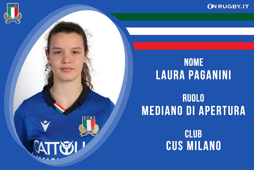 Laura Paganini-Rugby-Nazionale Femminile