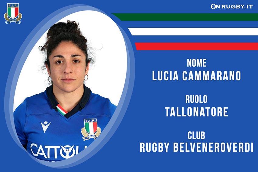 Lucia Cammarano-Rugby-Nazionale Femminile