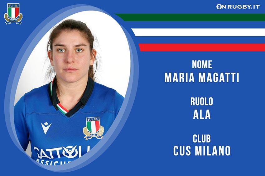 Maria Magatti-Rugby-Nazionale Femminile