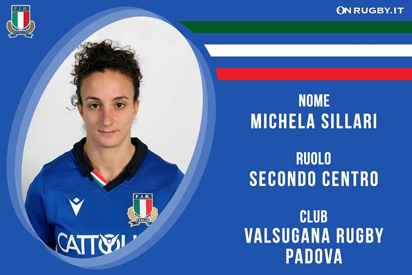 Michela Sillari-Rugby-Nazionale Femminile