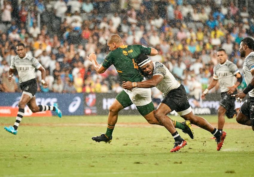 Sydney Sevens 2020 Fiji Sudafrica foto World Rugby
