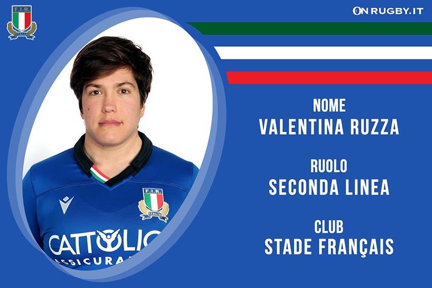 Valentina Ruzza-Rugby-Nazionale Femminile